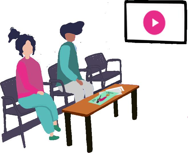 Vidéo en Salle d'attente